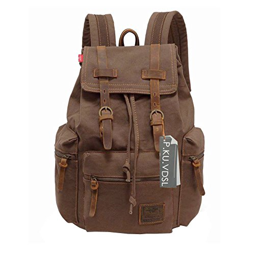 canvas-backpack-pkuvdsl-augur-series-vintage-canvas-leather-backpack-hiking-daypacks-computers-lapto