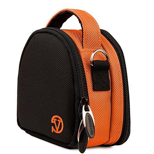 Berlin Travel Shoulder Bag Case [Orange] For Sony HDR AS50 AS200V AS100V AZ1VR AS20 / FDR X1000V X1000VR