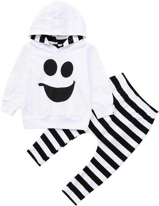 EG/_ Baby Boys Girls Clothing Set Autumn Hoodies Outerwear Pants Shirt Outfits No