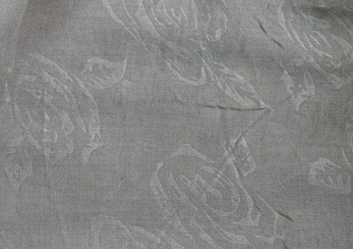 Discrètement Écharpe Classique Féminine De Rose Boucle Gris Shadow TfqAvA