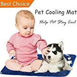 Pet Cooling Mat – Pet Dog Cat Ice Pad – Decalescence Ice Sand Mat Help Your Dog Cat Stay Cool – Pet Self Cooling bed for Kennels Crates and Beds – Pet Summer Sleeping Cool Mat for Home and Trave Review