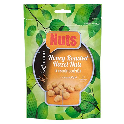 My Choice, Nuts, Honey Roasted Hazelnuts, net weight 95 g (Pack of 1 piece) / Beststore by KK8