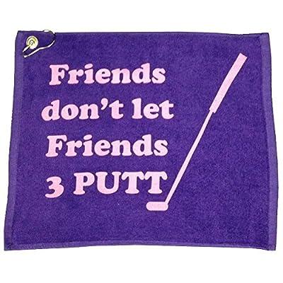 Giggle Golf Friends 3 Putt Golf Towel