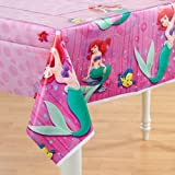 : Little Mermaid Plastic Tablecover