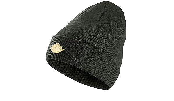 d4627bca1a4 Amazon.com  Jumpman Knit Hat One Size Grove Green Metallic Gold  Sports    Outdoors