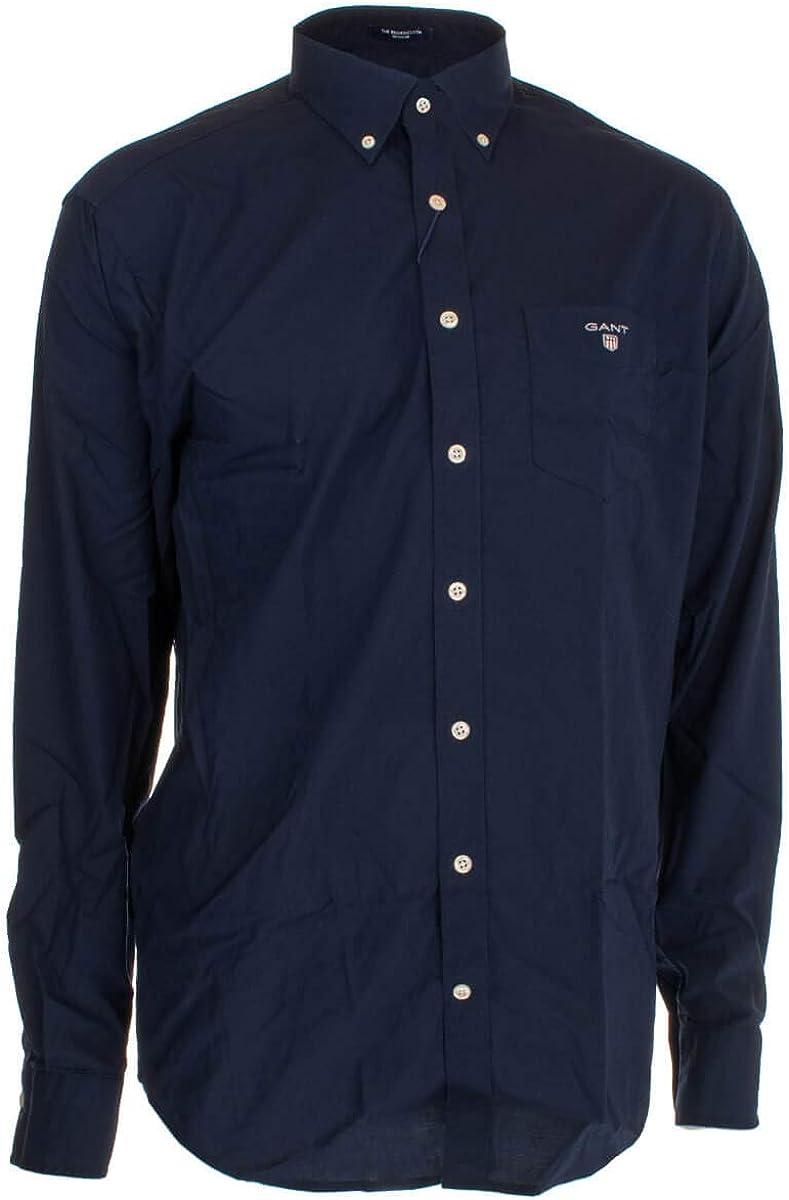 GANT The Broadcloth Regular Shirt Max 84% OFF Ranking TOP9 Mens Button Down