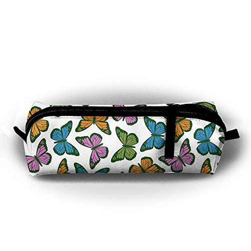 Bountiful Box (CHC40 Bountiful Butterflies Cute Pen Case Pencil Bag Holder Makeup Cosmetic Pouch Bag)