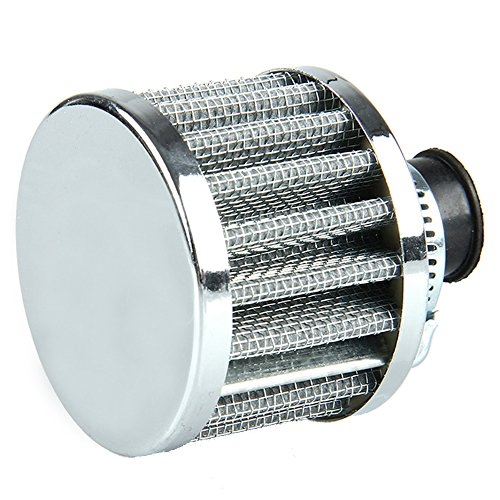 Etopars 12mm Mini Sliver Universal Car Motor Cone Cold Clean Air Intake Filter Turbo Vent Vehicle