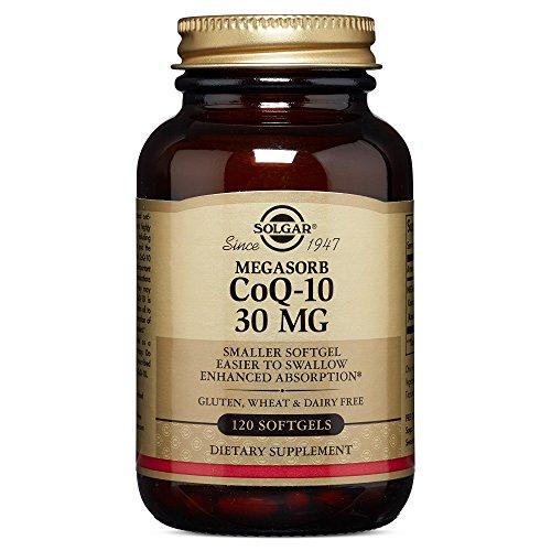 Solgar – Megasorb CoQ-10, 30 mg, 120 Softgels