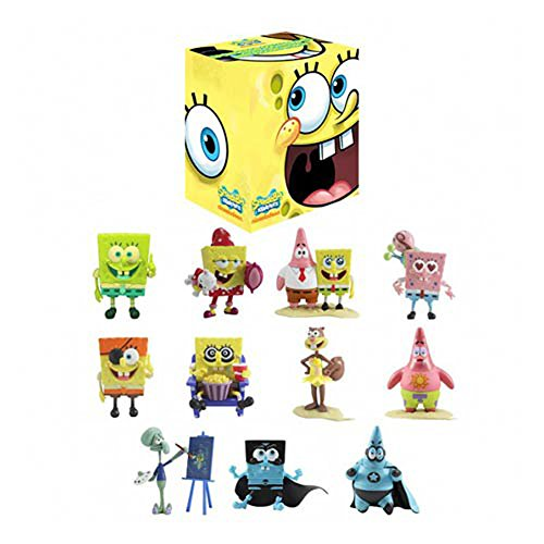 Spongebob Squarepants Toy Box (SpongeBob SquarePants Mini Figure World Blind Box Series 1 (1 Random Blind Box))