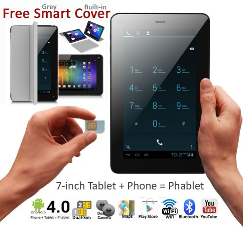7in Android 3G Smart Phone Tablet PC Bluetooth WiFi Google Play Store UNLOCKED! by inDigi