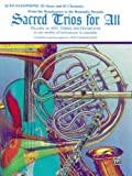 Sacred Trios for All - Alto Saxophone, William Ryden, 0769216307