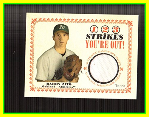 2004-topps-cracker-jack-1-2-3-strikes-youre-out-relics-bz-barry-zito-game-used-jersey-oakland-as-ath