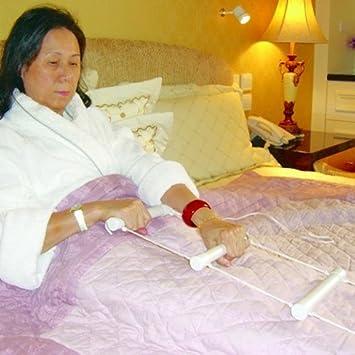 Cama cuerda escalera – escalera de cuerda para la ayuda posicionamiento cuando en la cama.: Amazon.es: Salud y cuidado personal