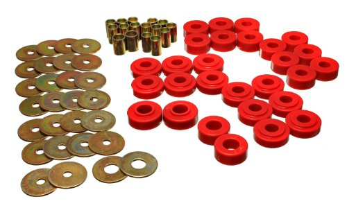 Energy Suspension 4.2127R Rear Spring Frame Shackle Kit