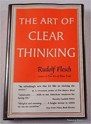 THE ART OF CLEAR THINKING PDF DOWNLOAD