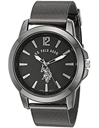 Classic Men's Quartz Metal and Alloy Watch, Color:Black (Model: USC80384)