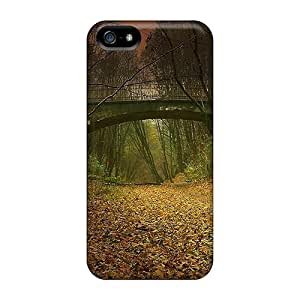 Cases Covers Compatible For Iphone 5/5s/ Hot Cases/ Bridge Over A Gultch Deep In The Forest
