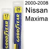 Nissan Maxima (2000-2008) Wiper Blade Kit - Set Includes 26' (Driver Side), 17' (Passenger Side) (2 Blades Total)