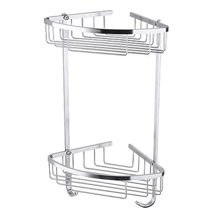 Amazon Com Bathroom Corner Shower Shelf Shelves Corner