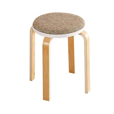 Amazon.com: JHome-Ottomans Taburete de cocina, silla de ...