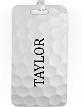 LAVENDER Personalized Polka Dots Personalized Luggage /& Bag Tag SMALL Standard Lines on Back
