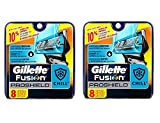 Gillette Fusion Proshield Chill Cartridges, 8 Ct (Pack of 2) + FREE Eyebrow Razor, 3 Ct.