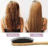 Hair Brush Comb Set Boar Bristle Hairbrush for