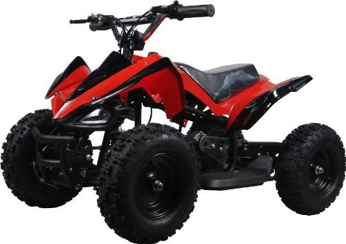 B00KGX8MCO NEW UPGRADED MODEL Electric Youth ATV Sport Quad for Children with Reverse , Rubber Tires. 51EgqU5zt6L.