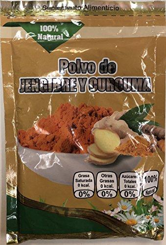 Polvo de Jengibre y Curcuma by Helathy Supplements