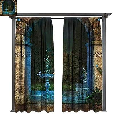 bybyhome - Cortinas de Porche, diseño gótico, fantasía, hechizos ...