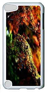 Apple iPod 5 Case, Apple iPod 5 Cases -Japanese Maple Tree Autumn Custom PC Hard Case Cover for Apple iPod 5/iPod Touch 5 White