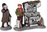Department 56 Dickens Village London Newspaper Stand Set of...