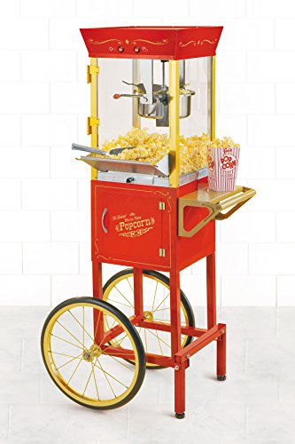 082677135100 - Nostalgia CCP510 53-Inch Tall Commercial 6-Ounce Kettle Popcorn Cart carousel main 1