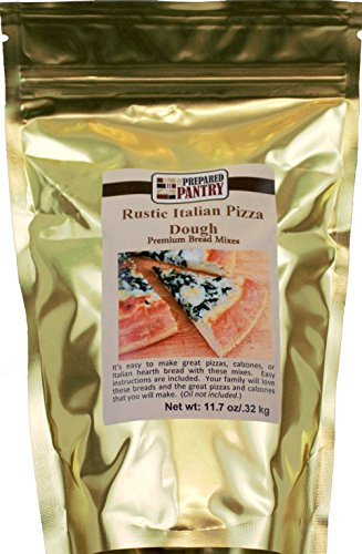 The Prepared Pantry Rustic Italian Pizza Dough Mix, 11.7 Ounce (Pack of 24) by The Prepared Pantry (Image #1)