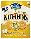 Blue Diamond Nut-Thins Almond Nut-Thins, Pepper Jack 4.25 oz (Pack of 3)