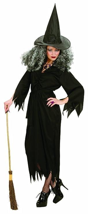 Widmann 02651 - Kostüm Hexe, Kleid, Gürtel und Hut, Größe S: Amazon ...