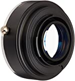 Fotodiox Pro Excell +1 Lens Mount Adapter w/Focal Reducing Light Gathering Optics, EOS Lens to Fujifilm X Mirrorless Camera