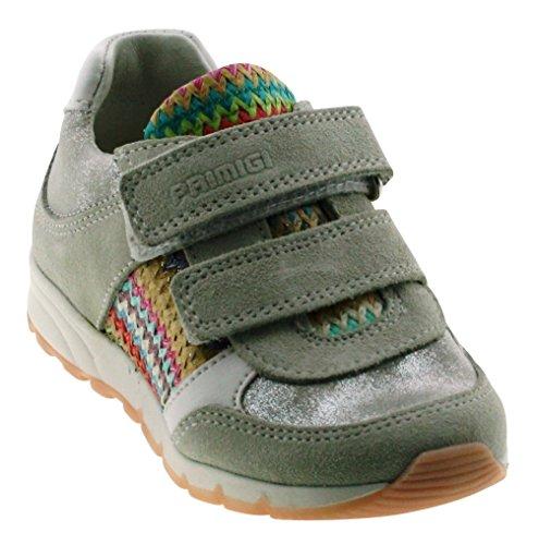 Primigi 14138 Baby - Mädchen Sneakers BCO/ROS-ARG MUL
