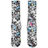 Best Old Glory Grunge Apparel Items - Grunge Triangle Pattern All Over Crew Socks Review