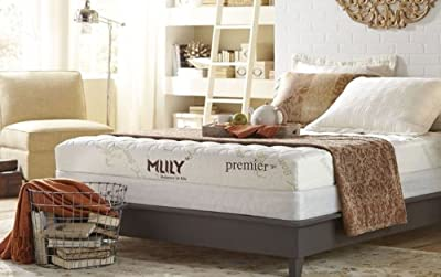 "MLily Premier 7"" CertiPur-US Gel Memory Memory Foam Mattress Luxury Air Cool Toxin Free"