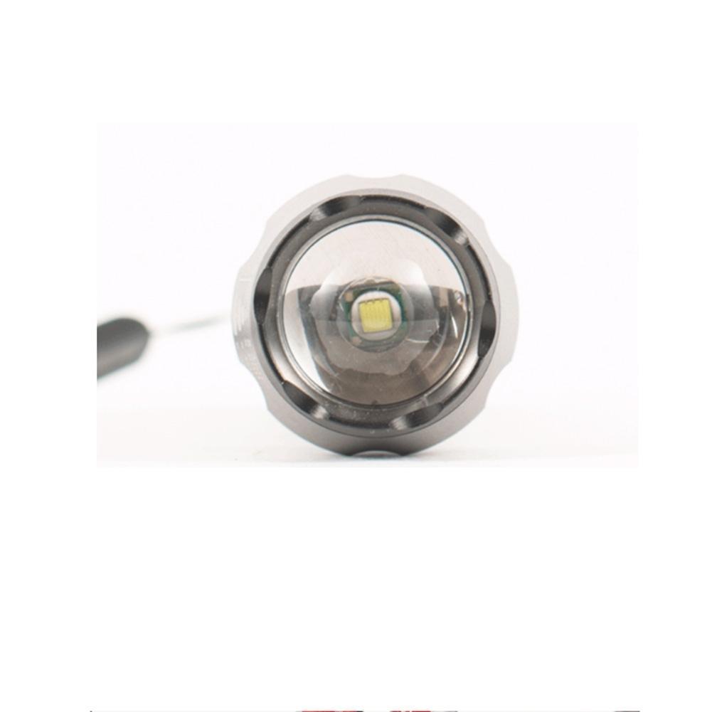 CHENGREN Linterna de Recargable de luz LED Linterna telescópica de Linterna Zoom de Largo Alcance 4a06d0