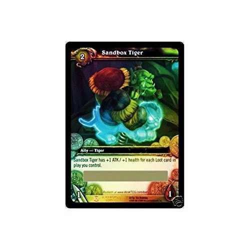 Spectral Sandbox Tiger Loot Card - Unredeemed / Unscratched World of Warcraft TCG by Blizzard Entertainment
