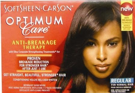 Optimum Care Salon Collection No-Lye Relaxer-Regular Case Pack 6 -