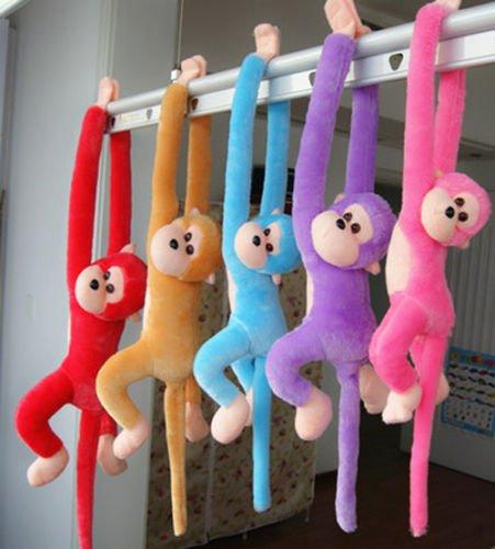 80cm Hanging Long Arm Monkey Stuffed Animal Plush Baby Toys Dolls Soft Kids (Amy Rose Sonic Boom)