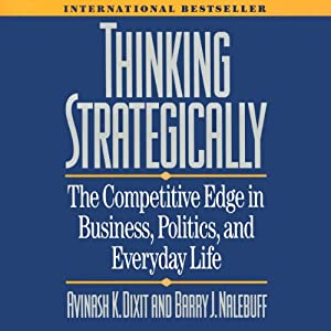 Thinking Strategically Audiobook