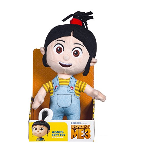 DM3 Despicable Me 3 Agnes Soft Toy (Dispatched From UK) -