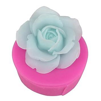 Rose Blume Silikon Fondant Schokolade Sugarcraft Backform Schimmel Kuchen De Nq