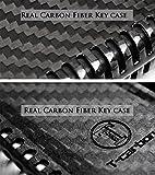 Luxury Carbon Fiber Protective Hard Key Case