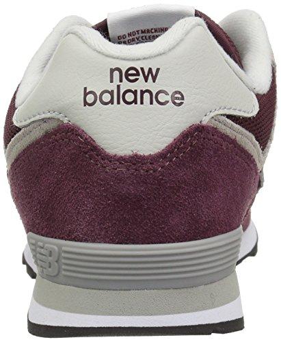 grey Rosso Unisex – New Gb 574v2 Balance burgundy Bambini Sneaker Ygqw8FPw